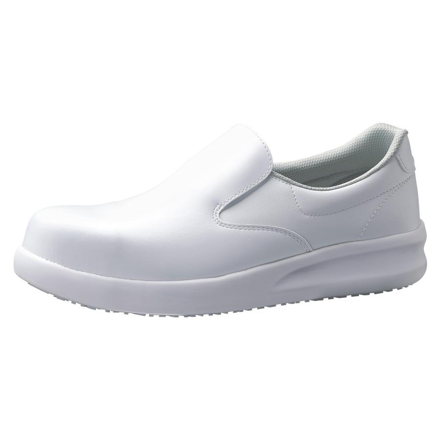 先芯入り超耐滑作業靴 ハイグリップ・ザ・フォース NHF−600 ホワイト 大