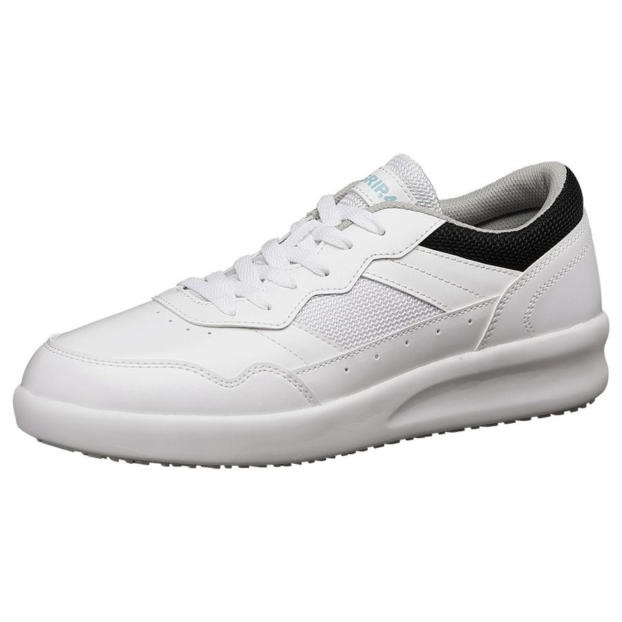 超耐滑作業靴 ハイグリップ・ザ・フォース NHF−710 ホワイト 大