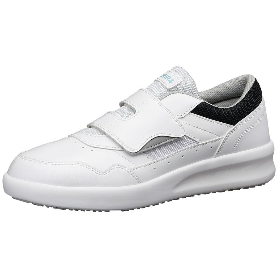 超耐滑作業靴 ハイグリップ・ザ・フォース NHF−715 ホワイト 大