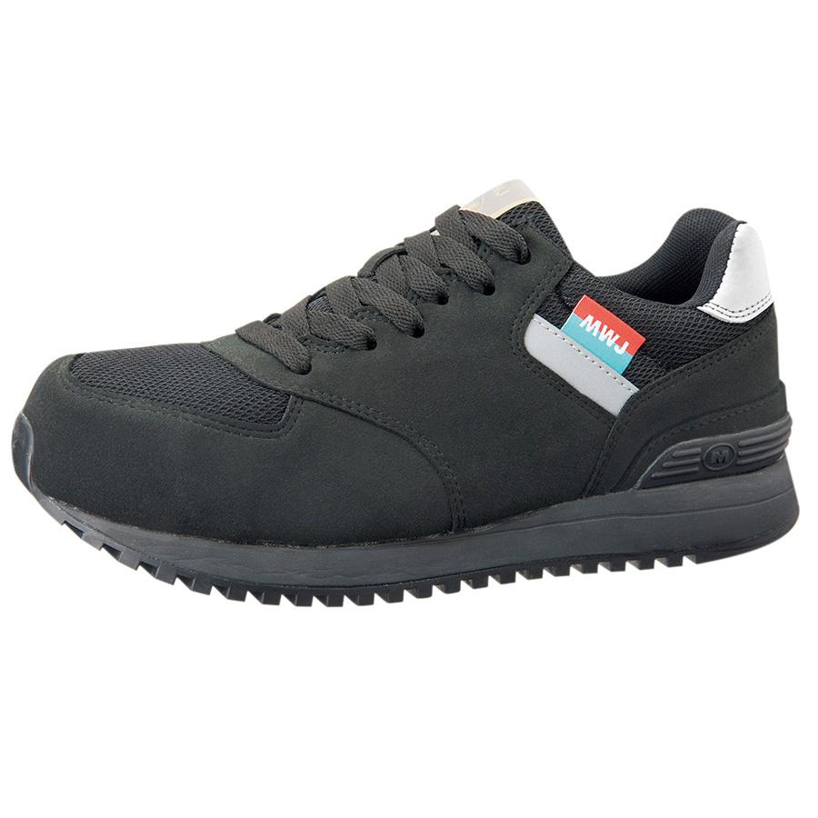 ワーク女子力作業靴 MWJ−110A ブラック