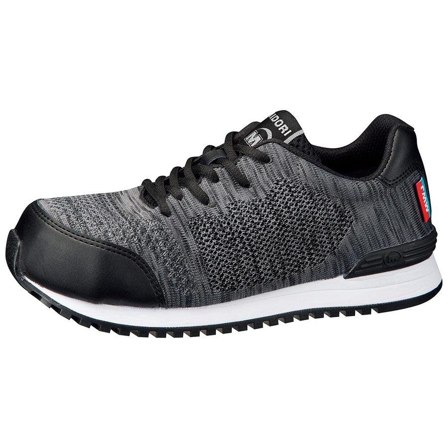ワーク女子力作業靴 MWJ−710 ブラック