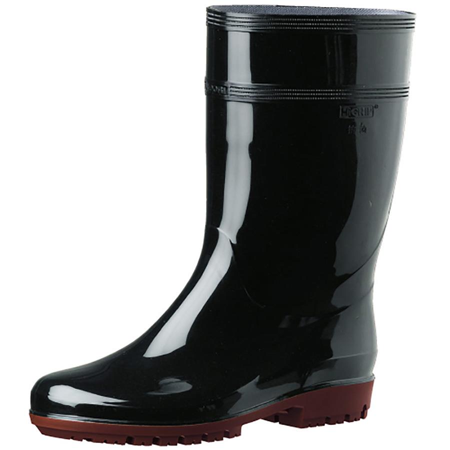 耐滑抗菌長靴 ハイグリップ HG2000Nスーパー ブラック 大