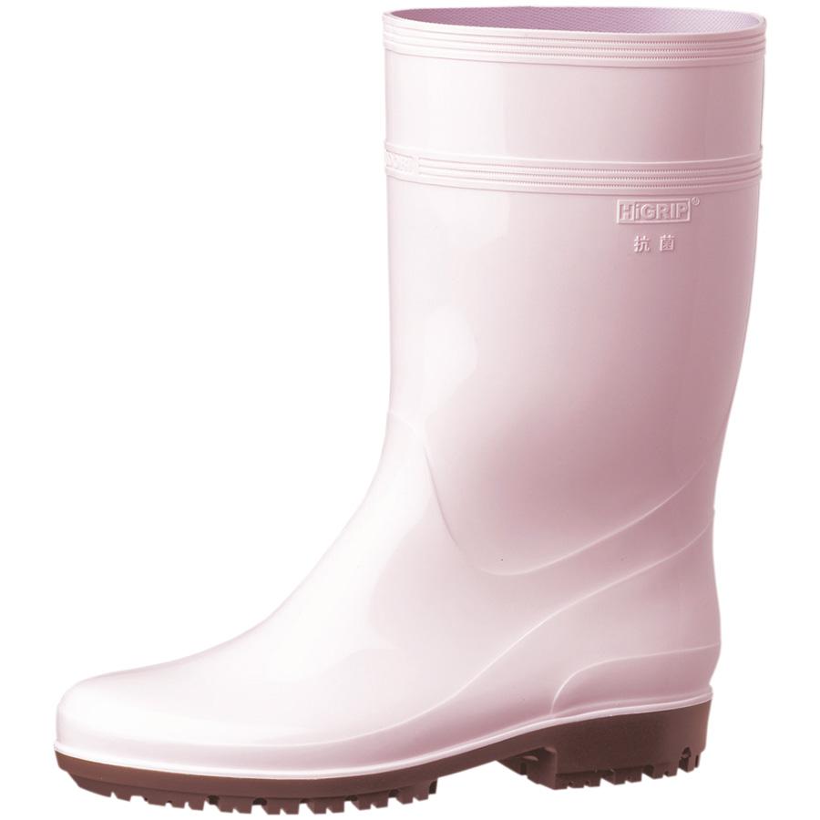耐滑抗菌長靴 ハイグリップ HG2000Nスーパー ピンク