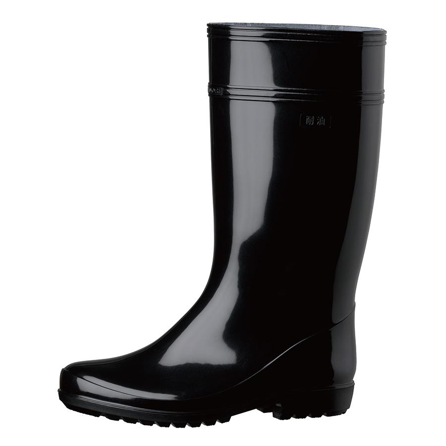 作業長靴 ワークエース W2000 ブラック