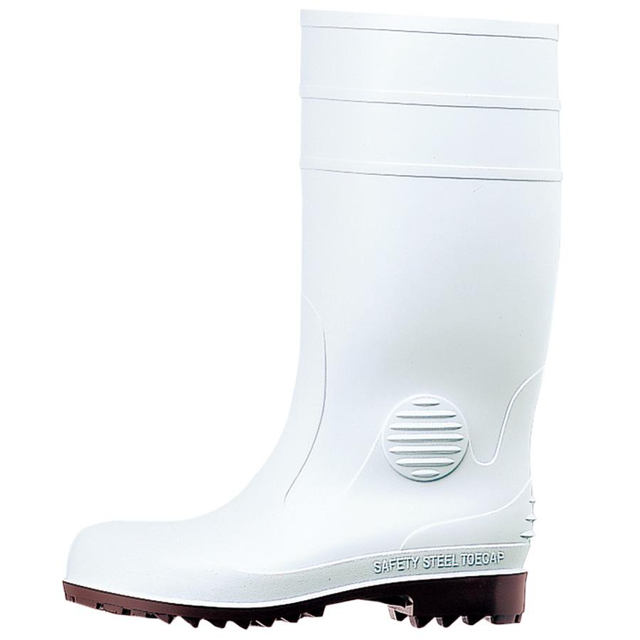 安全長靴 ワークエース W1000スーパー ホワイト