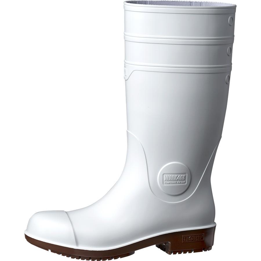 超耐滑安全長靴 NHG1000スーパー ホワイト 大