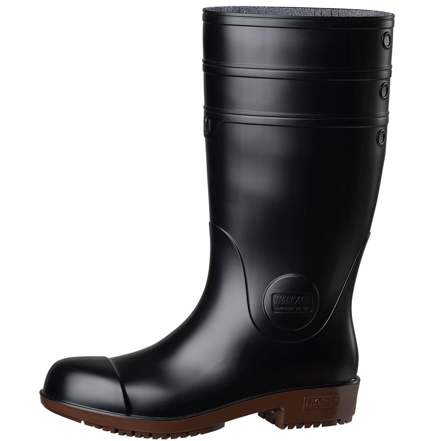 超耐滑安全長靴 NHG1000スーパー ブラック 大