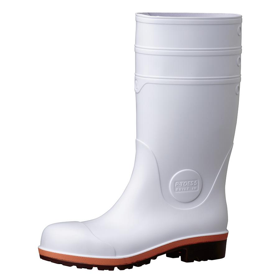 安全長靴 プロテクトウズ5 PW1000スーパー ホワイト 大