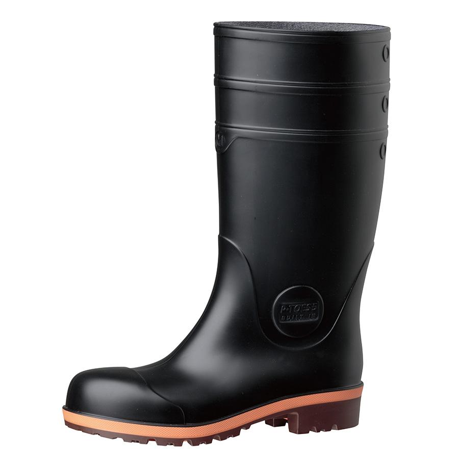 安全長靴 プロテクトウズ5 PW1000スーパー ブラック