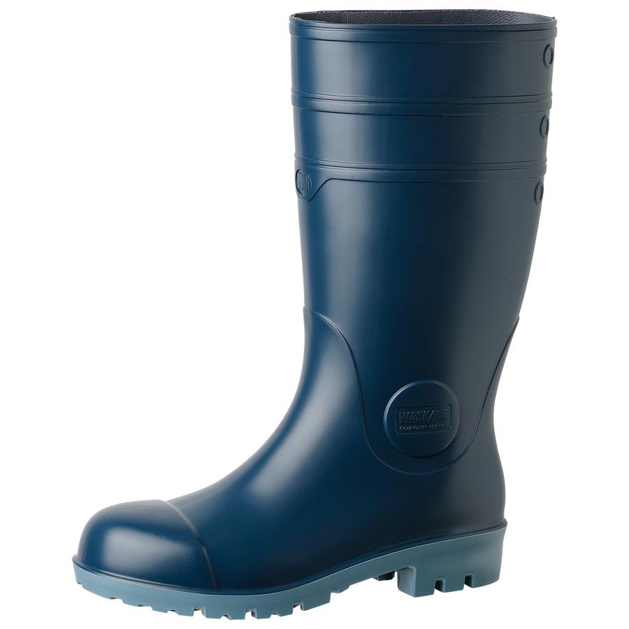 安全長靴 NW1000スーパー 静電 ブルー 大