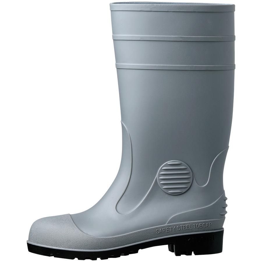 安全長靴 W1000N グレイ