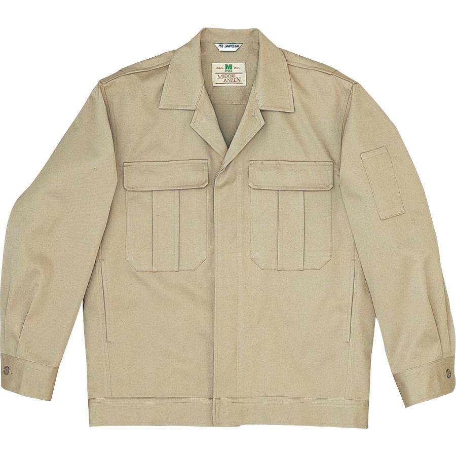 綿4つポケットジャンパー M2300上 ブロンズ