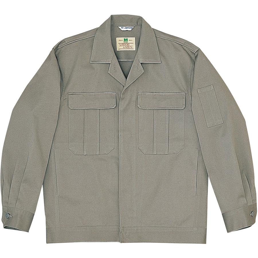 綿4つポケットジャンパー M2301 上 グレー