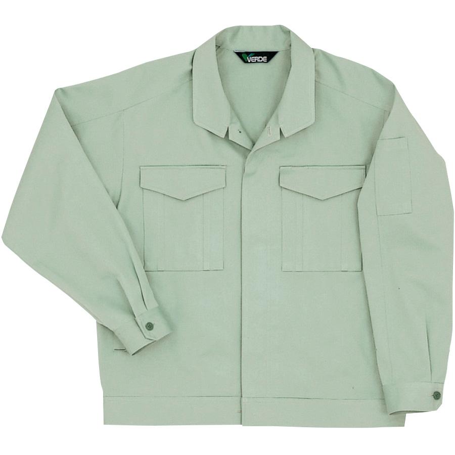 綿ジャンパー G406 上 ライトグリーン