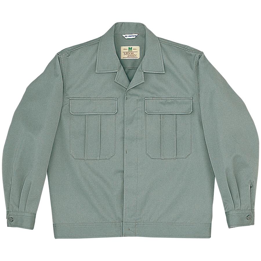 混紡2つポケットジャンパー M5201 上 グレー