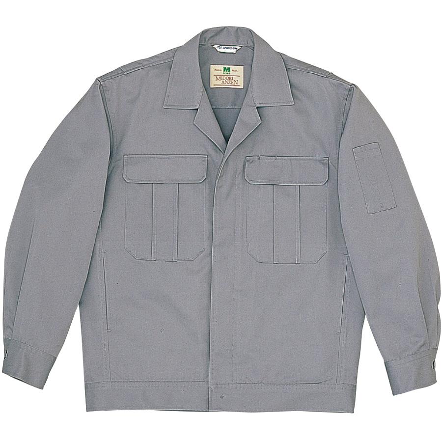 混紡4つポケットジャンパー M5601 上 グレー