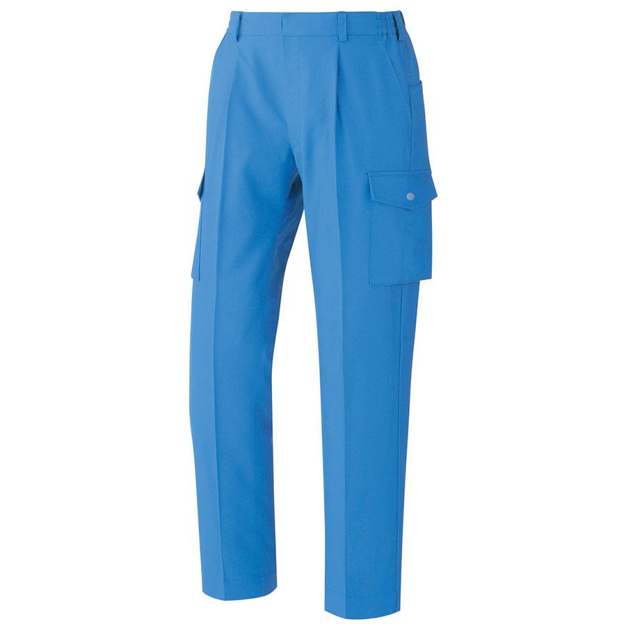 男女共用 ハーネス対応 イージーフレックスカーゴパンツ VE583C 下 ブルー
