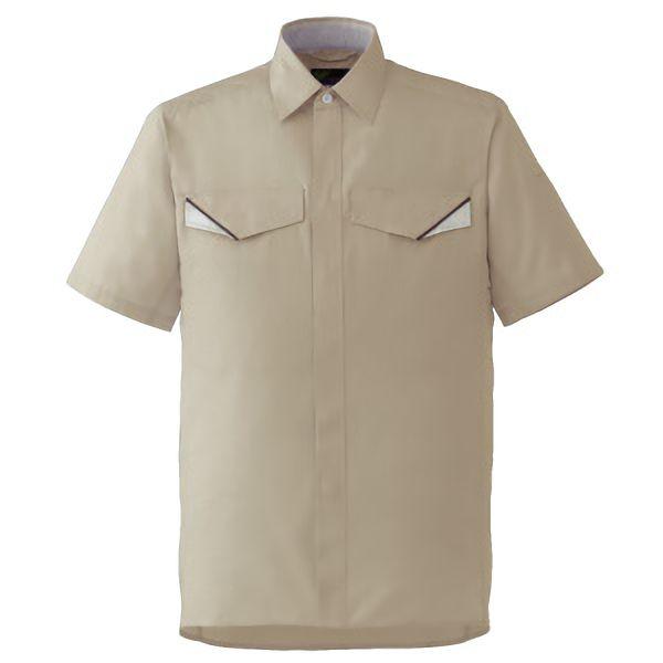 ベルデクセルフレックス 半袖シャツ VES20 上 ベージュ