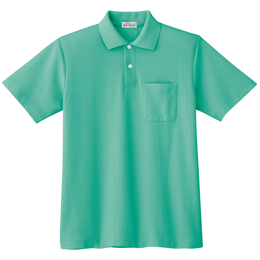 半袖ポロシャツ PS06N 上 ミントグリーン