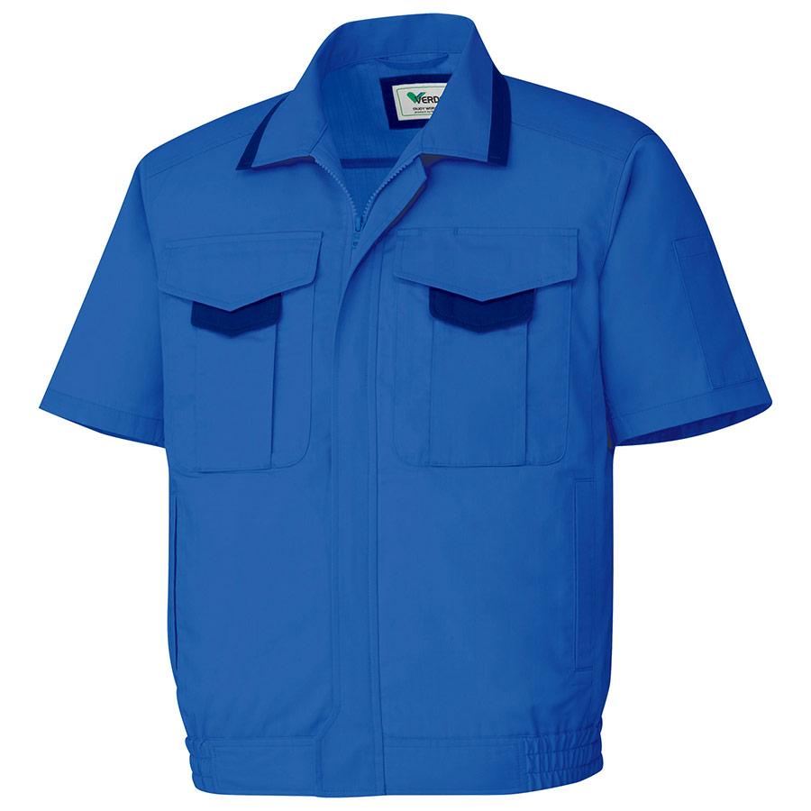 男女共用 半袖ブルゾン GS673 上 ロイヤルブルー