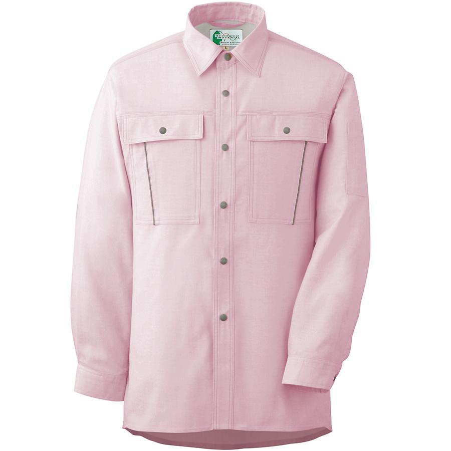 ペア長袖さらりシャツ RCS2605 上 ピンク