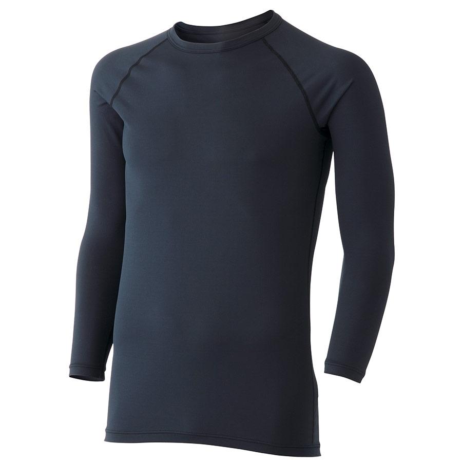 男女共用 長袖Tシャツ クールインナー FTC11BK 上 ブラック