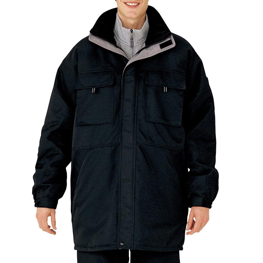 グッドバリュー 防寒服コート M3129 上 ブラック