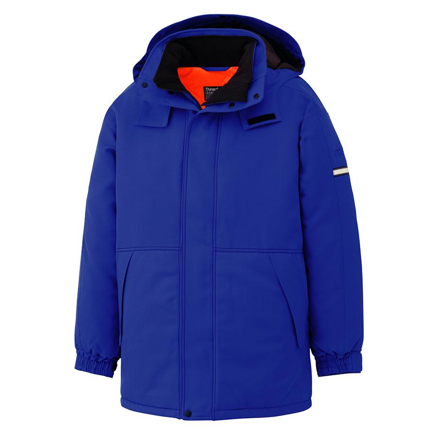 極寒防寒コート M4063 上 ブルー