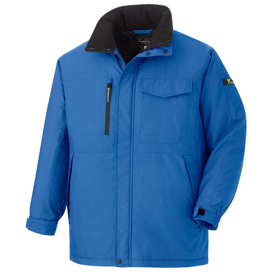 ベルデクセルフレックス 帯電防止軽量防寒コート VE1063 上 ブルー (SS〜5L)