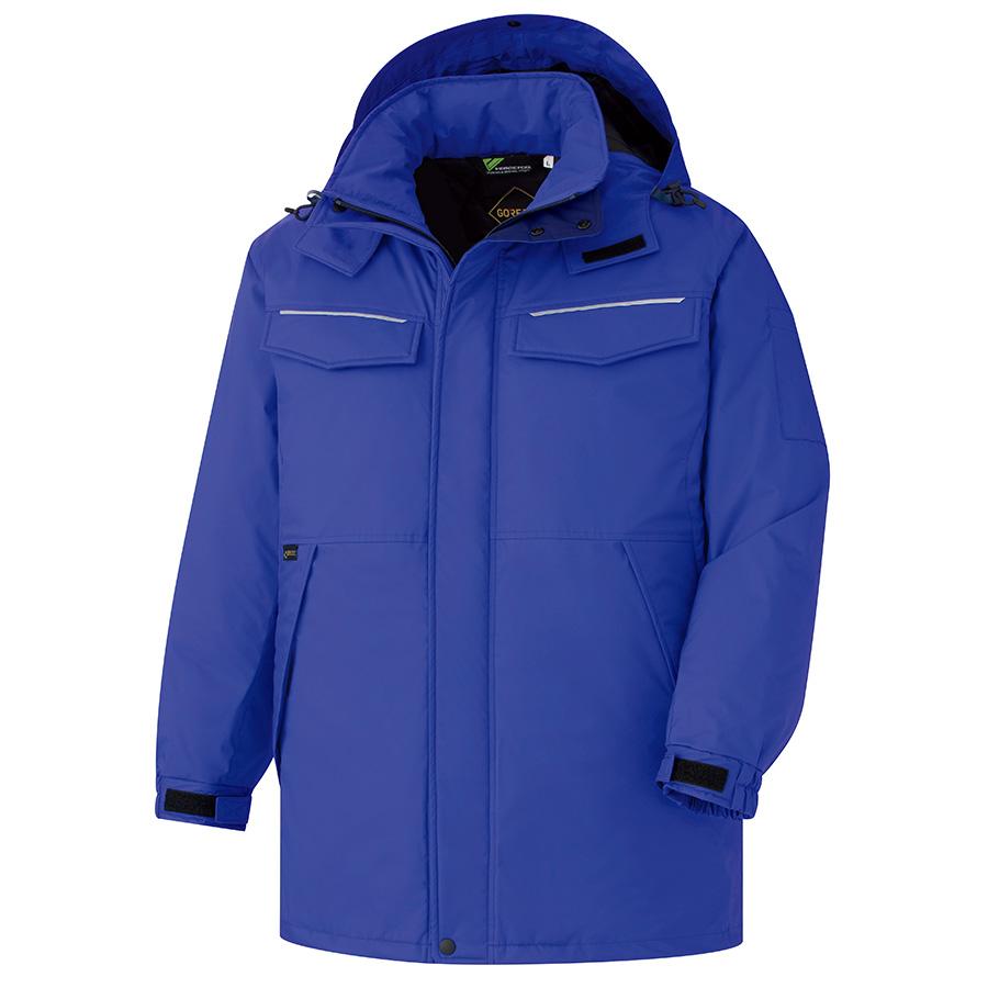 ベルデクセルフレックス GORE−TEX(R) 防寒コート VE1083 上 ブルー (SS〜5L)