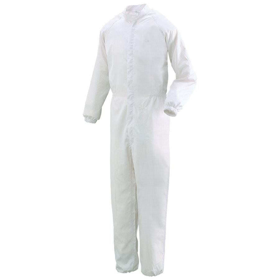 クリーンウェア 一般型クリーンスーツ C1031W ホワイト