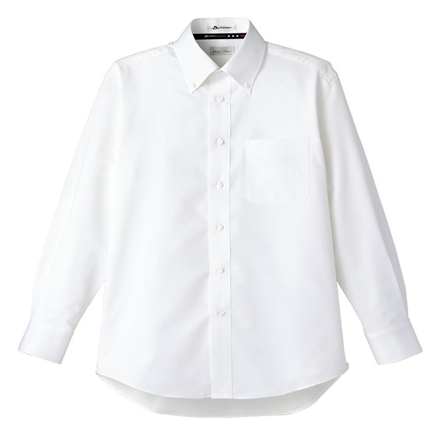 メンズ 吸汗速乾 長袖シャツ FB5014M−15 ホワイト