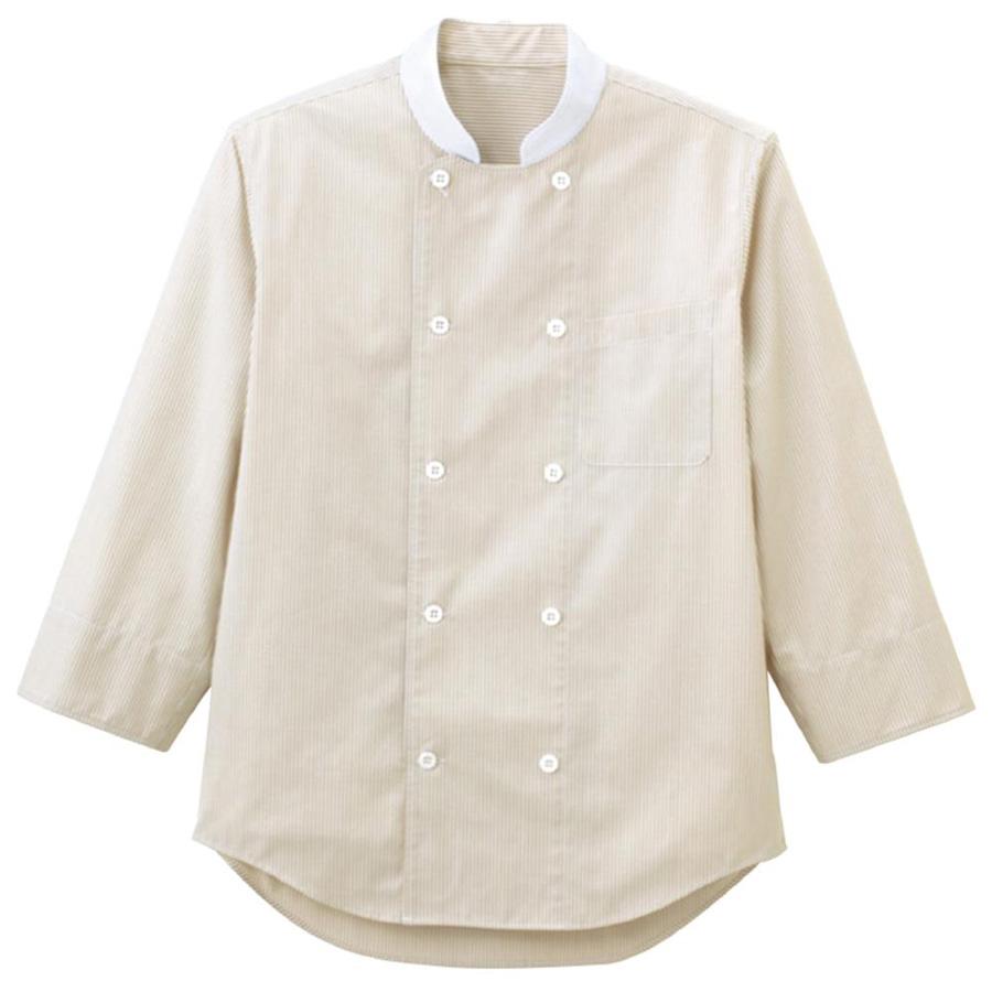 コックシャツ ユニセックス FB4514U−1 ベージュ