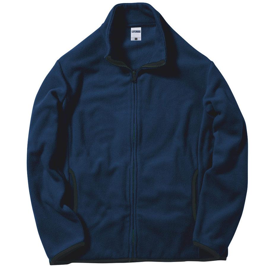フリースジャケット MJ0065−8 ネイビー