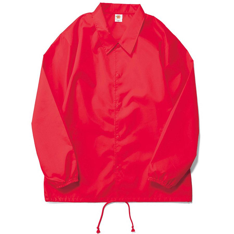 コーチジャケット(裏地なし) MJ0076−903 ヴィクトリーレッド