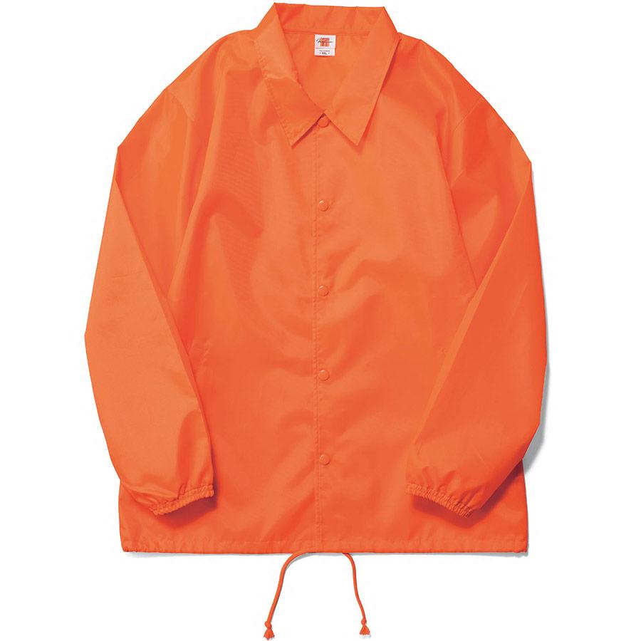 コーチジャケット(裏地なし) MJ0076−43 ネオンオレンジ