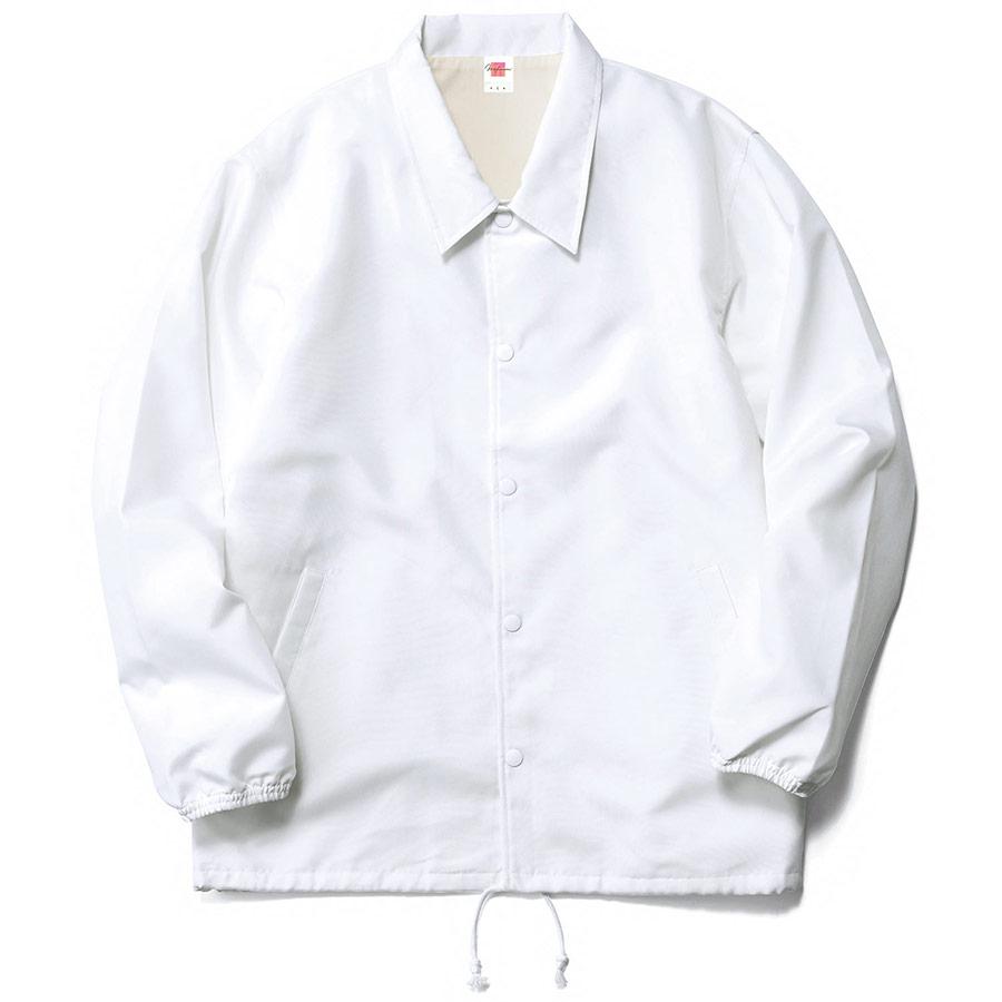 コーチジャケット(裏地あり) MJ0077−15 ホワイト