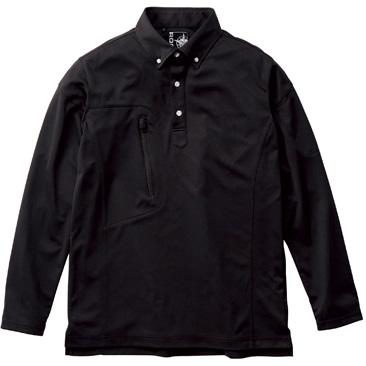 ユニセックストリコットシャツ RS4903−16 ブラック