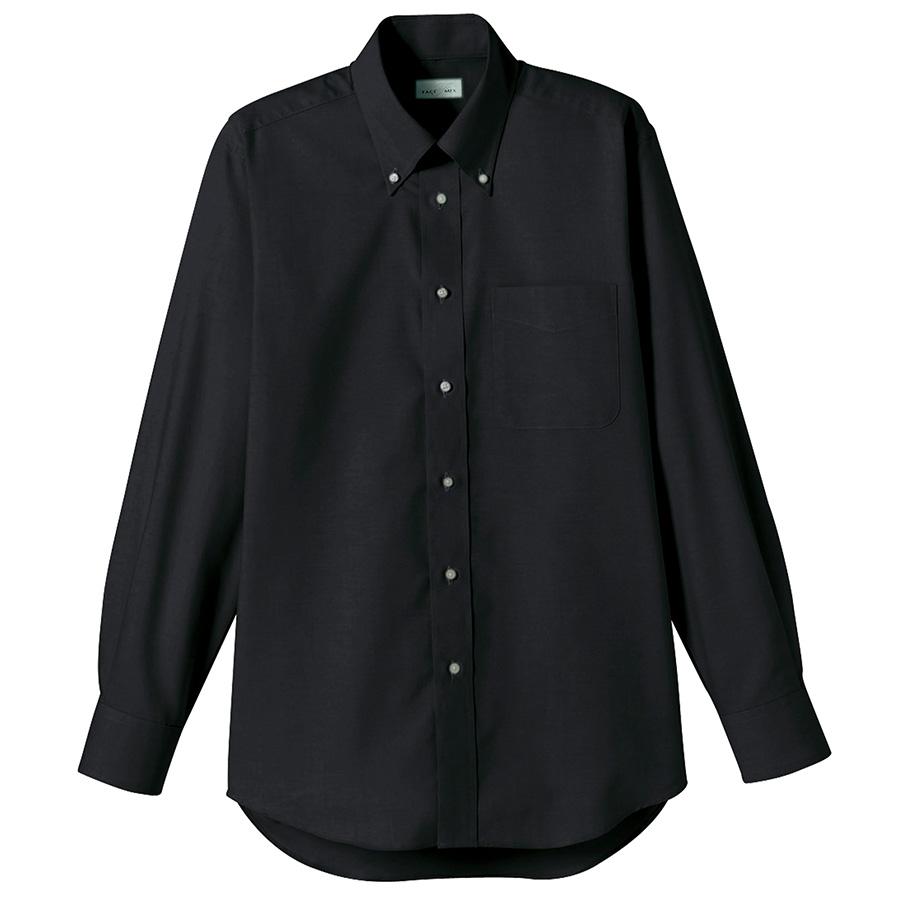 オックスフォード長袖シャツ FB4510U−16 ブラック