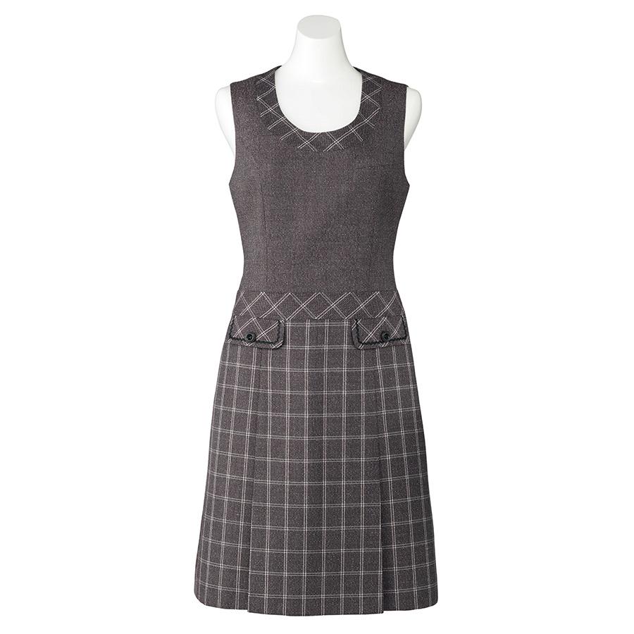 Emu ジャンパースカート LO5103−33 ローズグレイ (5〜19号)