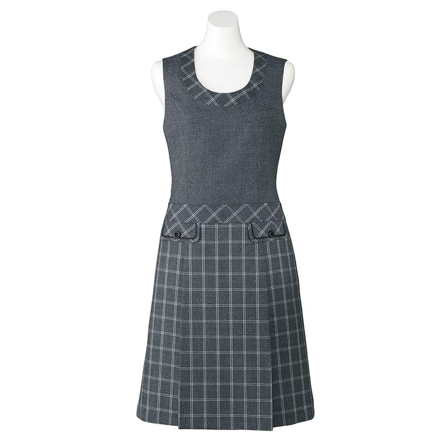 Emu ジャンパースカート LO5103−37 ブルーグレイ (5〜21号)