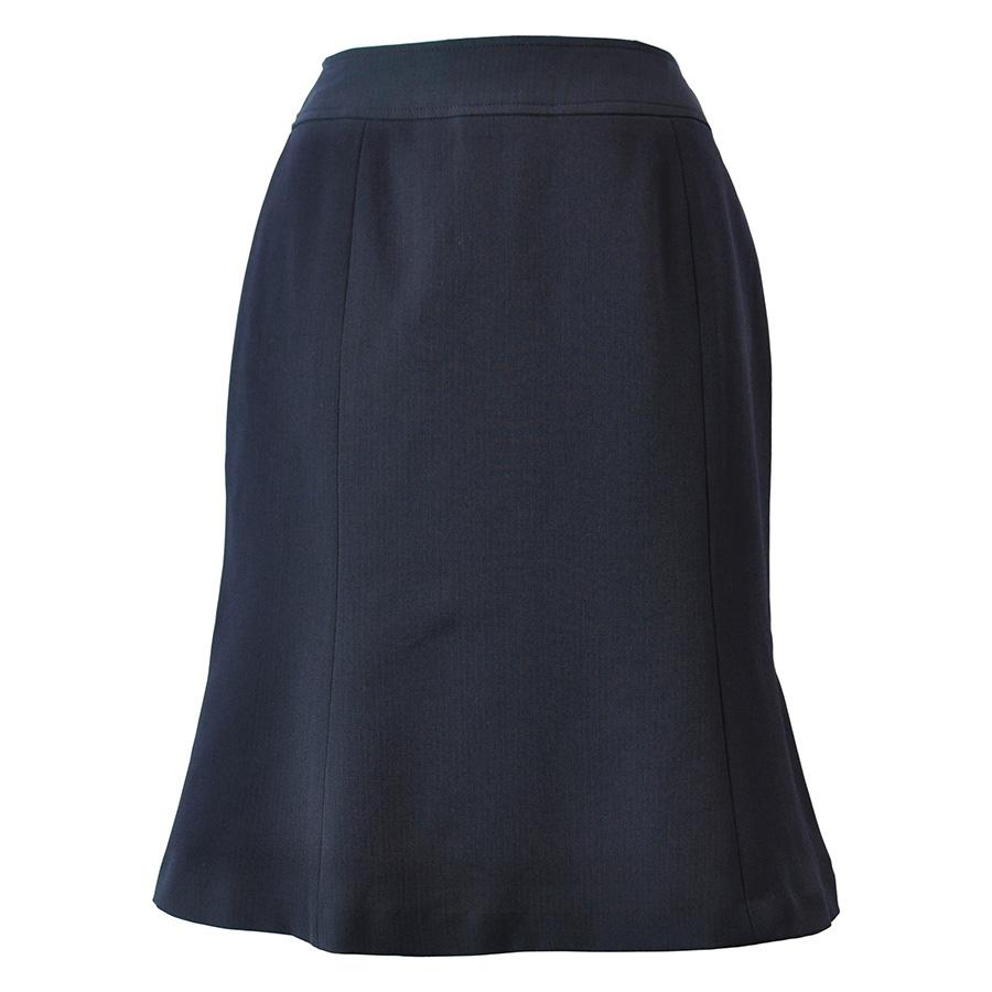 Excella マーメイドスカート AS2256−8 ネイビー (5〜21号)