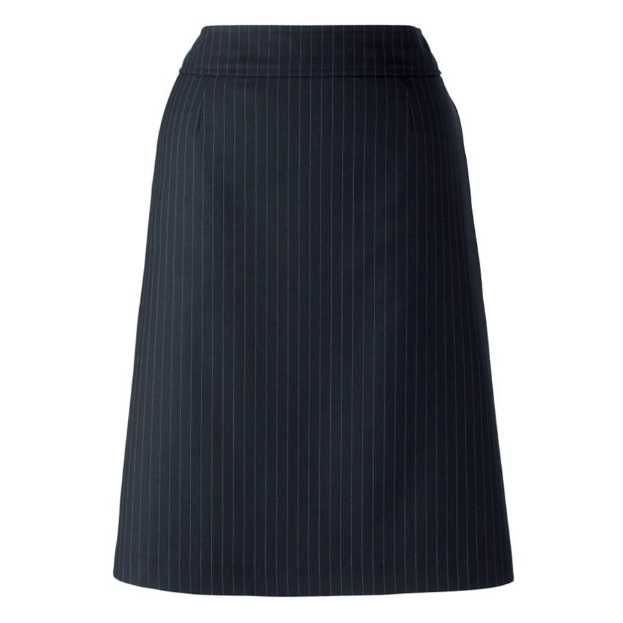 Vega AS2270−28 Aラインスカート ネイビー×ブルー (5〜19)
