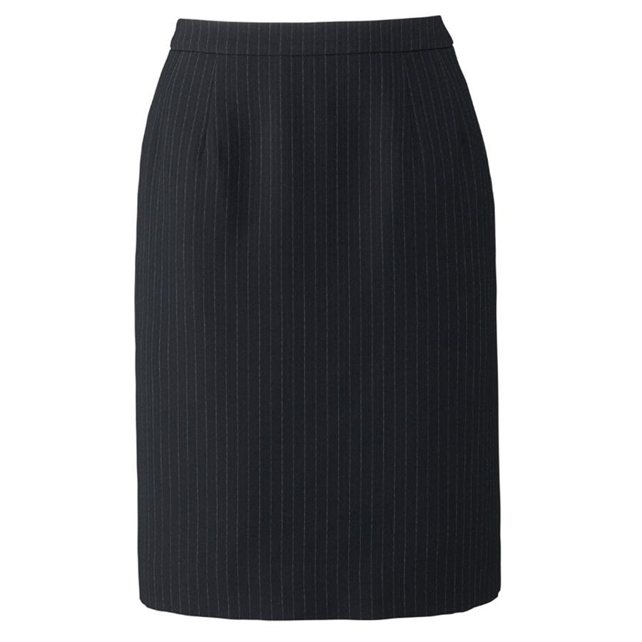 Lien AS2285−28 タイトスカート ネイビー×グレイ (5〜19)