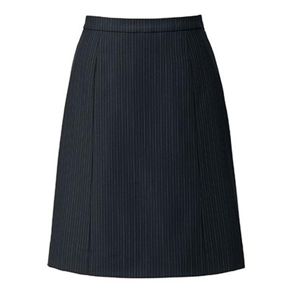SOLOTEX ST �T Aラインスカート LS2196 ブラック×ブルー (5〜19号)
