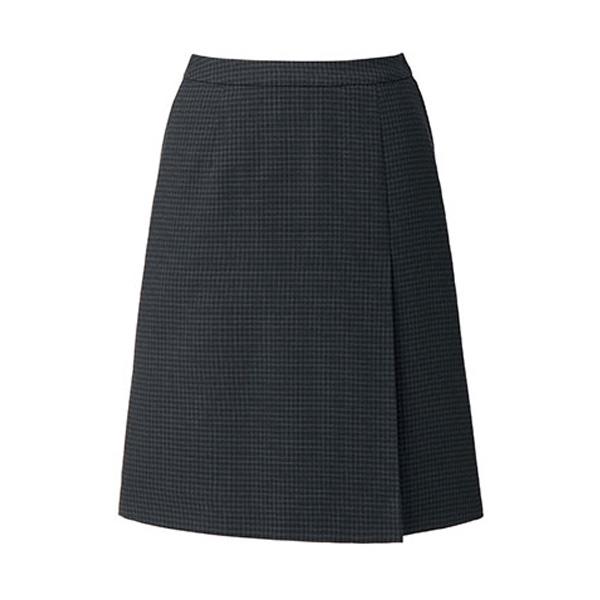 OpticalCheck プリーツスカート LS2200 ブラック×グレイ (5〜21号)