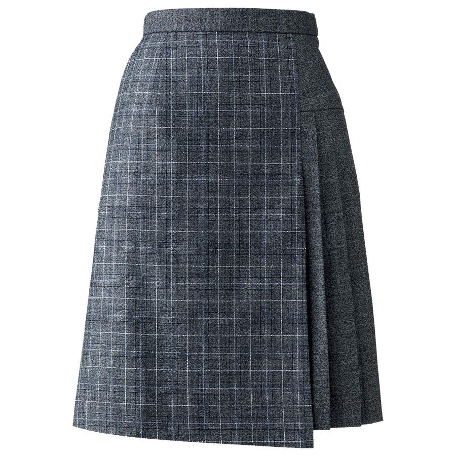 プリーツスカート AS2314−32 グレイ