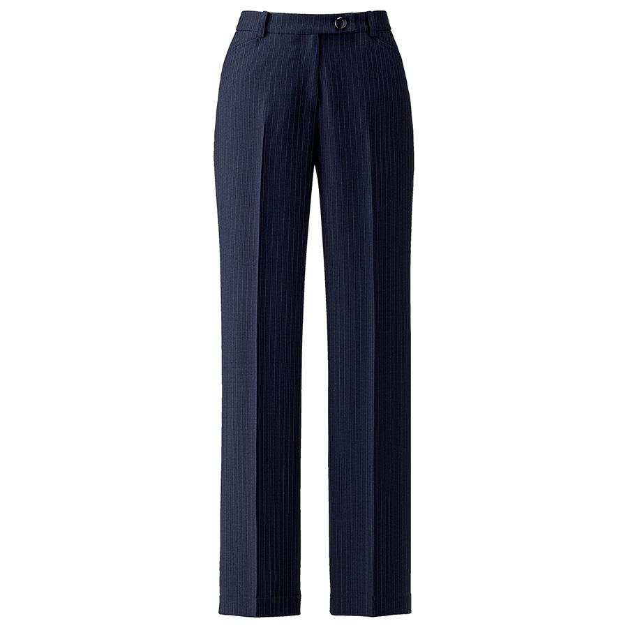 裾上げらくらくパンツ AP6245−28 ネイビー×ブルー