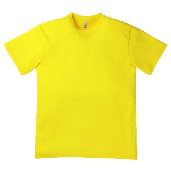 3.8オンス ユーロTシャツ MS1138−10 イエロー