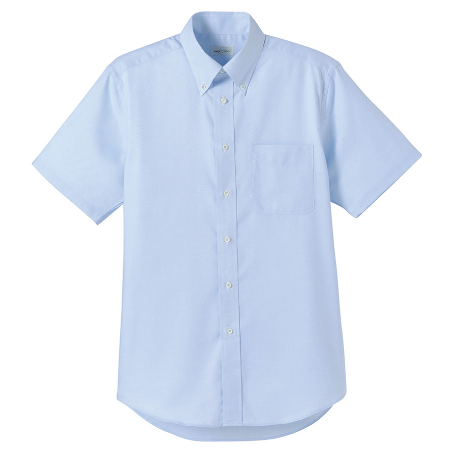 メンズ 半袖シャツ FB5016M−7 ブルー